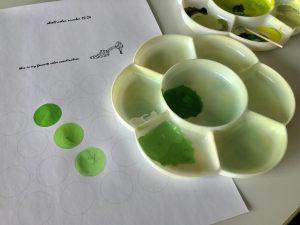 緑色の調合